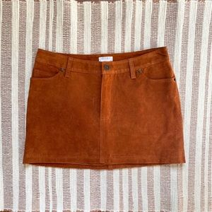 Urban Outfitters COOPERATIVE SKIRT Orange - size 4